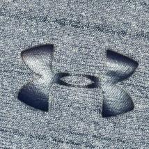Under Armour Men's Heathered Blue Loose HeatGeart Long Sleeve Athletic Shirt M image 4