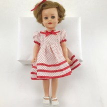 SHIRLEY TEMPLE DOLL Vintage IDEAL ST-15N Collectible Figure Dress Shoes ... - $54.19