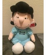 Lucy Plush Peanuts Doll From Cedar Point Fair Blue Dress - $37.94