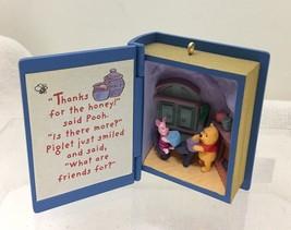 1998 Winnie the Pooh #1 Hallmark Christmas Tree Ornament MIB no Price Ta... - $18.32
