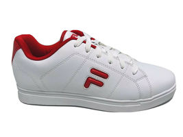 Men's Fila Charleston White | Red Fashion Sneakers  - $69.00