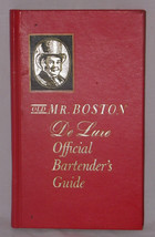 1965 Old Mr. Boston De Luxe Official Bartender's Guide Hardback Cocktail... - $7.99