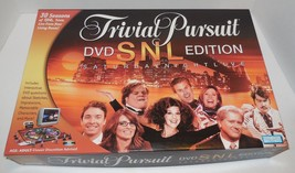 Trivial Pursuit Saturday Night Live SNL DVD Edition Board Game Parker Br... - £10.05 GBP