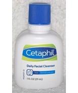 Galderma Cetaphil DAILY FACIAL CLEANSER Normal Oily Skin Face Mini 1 oz/... - $7.92