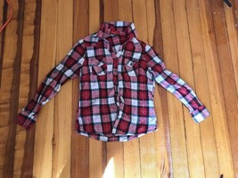 Zoey And Beth Checked Shirt Sz Medium - $14.49
