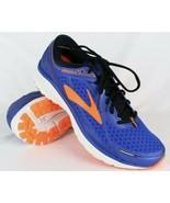 BROOKS Mens ADURO 5 Running Gym Training Blue Orange 1102551D494 Mens Si... - $69.30