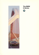 1995 BMW 5-SERIES brochure catalog 1st Edition US 95 525i 530i 540i - $8.00