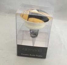 Ceramic Elegant Wine Bottle Topper by Elements Merlot New Zealand 2013  - £9.23 GBP