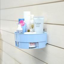 Basket Rack Hanging Wall Mount Bathroom Shelf Supplies Storage Tool Orga... - $15.47