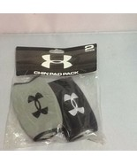 Under Armour Chin Pads 2 Pack Gray Black New in Package - $9.99