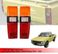 REAR TAIL LIGHT LENS FOR TOYOTA PICKUP RN30 RN40 STANDRD COLOR 1978 - 1983 - $31.45