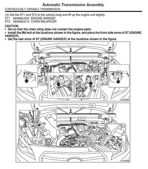 SUBARU OUTBACK 2015 WORKSHOP OEM MAINTEANCE SERVICE REPAIR FACTORY FSM MANUAL