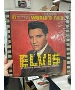 Elvis It Happened at the Worlds Fair Vinyl - $25.00