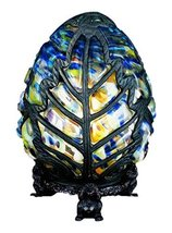 "Meyda Tiffany 22092 Castle Egg Accent Lamp, 9"" Height - $198.00"