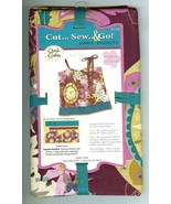 Quick Crafts Fabric Panel 100% Cotton Tank Top Sewing Projects Kit NIP - $11.47
