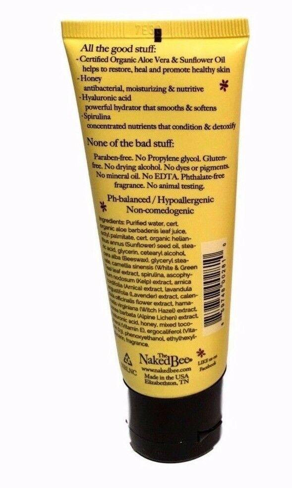 The Naked Bee Nag Champa Hand & Body Lotion 2.25 oz 2 pack Natural Sandalwood image 4