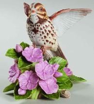The Lenox Giardino Uccello Collezione Canzone Sparrow (1998 Fine (Bello ) - $49.32