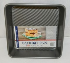 Patriot Pan 1120BWTAR Square Non Stick Bakeware 8 By Eight Inch image 1