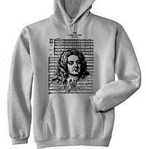 George Frideric Handel - New Cotton Grey Hoodie - $31.88