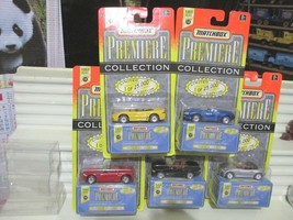 Matchbox 1997 Premiere World Class #12 SIX Cars Mint in Mint Boxes + Pac... - $52.42