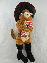 "Ty Beanie Babies PUSS IN BOOTS Shrek the Halls 2008 beanbag plush 8"" - $8.90"