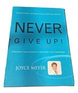 Never Give Up Integrated Interactive Curriculum Kit (Book, CD, DVD) Joyc... - $39.99