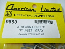American Limited # 9850 Athearn Operating Diaphragms Gray HO-Scale image 1