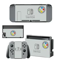 Super SNES Retro System Nintendo Switch Joy-Con Dock Console Vinyl Skins Decals - $9.31
