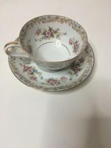 """Vintage NORITAKE China 5317 """"SOMERSET"""" Footed Cup & Saucer Set - $7.92"""