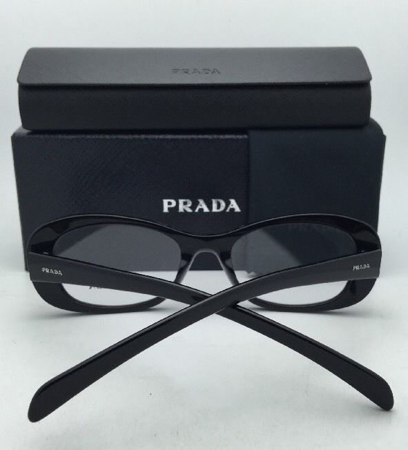 e38de9a8fd 57. 57. Previous. New PRADA Eyeglasses VPR 24R 1AB-1O1 52-16 140 Shiny  Black Frames w · New PRADA ...