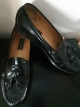 Cole Haan Loafers Slip On Oxfords Size 11 US Mens Black Tassles Dressy Work - $34.60