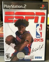 ESPN NBA 2K5 (PlayStation 2, 2004), CIB, Authentic, Tested, PS2! - $3.68