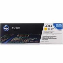 New HP Laserjet 304A Yellow Print Cartridge CC531A Sealed Box - $74.25
