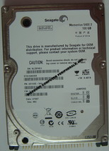 "NEW ST9100828A Seagate 100GB IDE 44PIN 2.5"" 9.5MM Hard Drive Free USA Shipping"