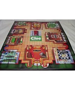 Clue Classic Detective Game Replacement Playing Board 1998 Wall Decor Pa... - $14.84