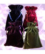 Haunted large velvet CHARGING MAGNIFYING ENHANCE FULL MOON MAGICK Cassia4  - $30.00