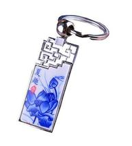 Chinese Style Durable Key Chain Lovely Lotus Car Key chain Elegant Gift