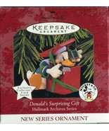 1997 New in Box - Hallmark Keepsake Christmas Ornament Donald's Surprisi... - $4.45