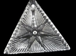 Waterford Crystal Ornament 2000 Times Square Triangle Star of Hope Collectible image 2