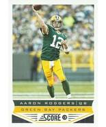 2013 Score #75 Aaron Rodgers  - $0.75
