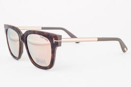Tom Ford Tracy Havana / Brown Mirrored Sunglasses TF436 56G - $175.42
