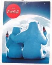 Coca-Cola Polar Bear Supersoft Fleece Blanket 55 x 70 Throw  - BRAND NEW - $22.72