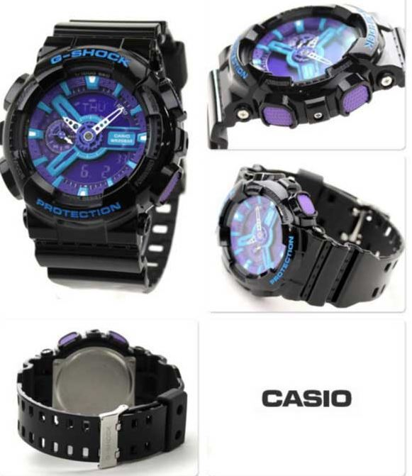 bd9ec6f20a07b Casio G-Shock GA-110HC-1A Mens Watch - Blue and 21 similar items