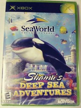 SeaWorld: Shamu's Deep Sea Adventures (Microsoft Xbox, 2005)NEW FACTORY SEALED image 1