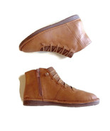 Lostisy Boots Vegan Booties Size 38 EU Faux Leather Zipper US Size 7.5 - $22.27