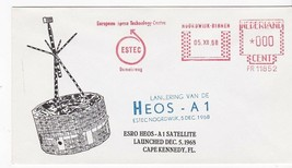 HEOS-A1 ESRO SATELLITE LAUNCHED NETHERLANDS DECEMBER 5 1968 - $1.78