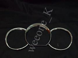 Chrome Gauge Surrounds Cover For Toyota Hilux MK6 Vigo SR5 Pickup 2005 - 2011 - $21.96