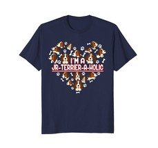 Im A JR-Terrier-A-Holic T-shirt Funny JR Terrier Shirt - $17.99+