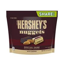 HERSHEY'S Nuggets Dark Chocolate With Almonds Candy, 10.1 Oz - $10.99