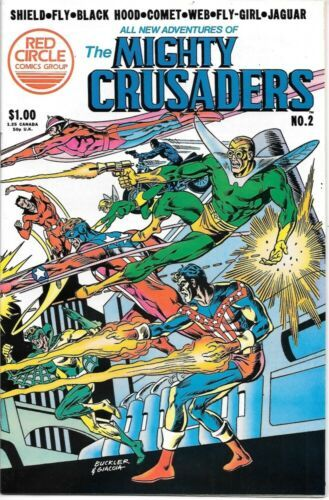 Adventures of The Mighty Crusaders Comic Book #2 Archie 1983 NEAR MINT